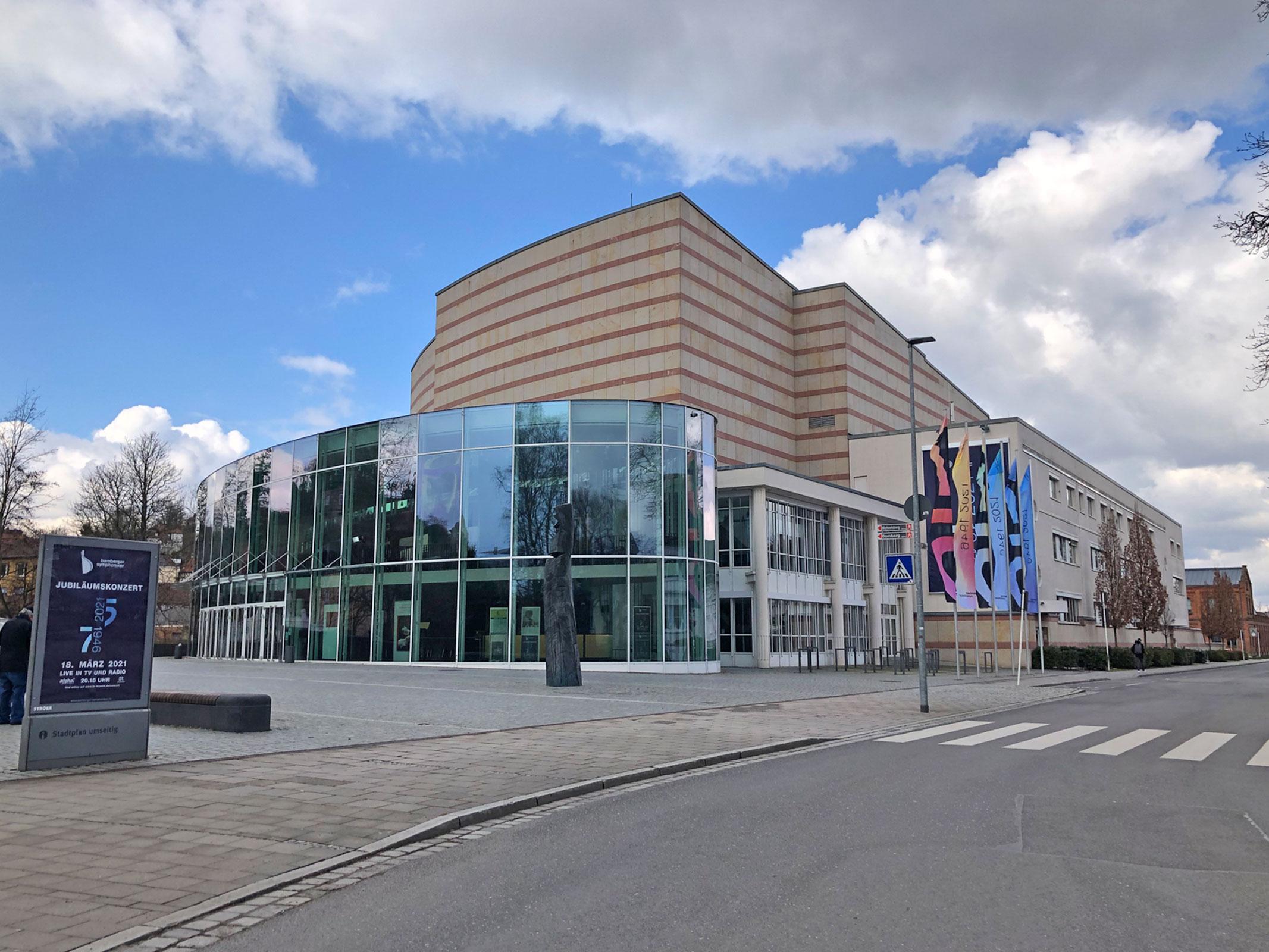 Ansicht Konzerthalle