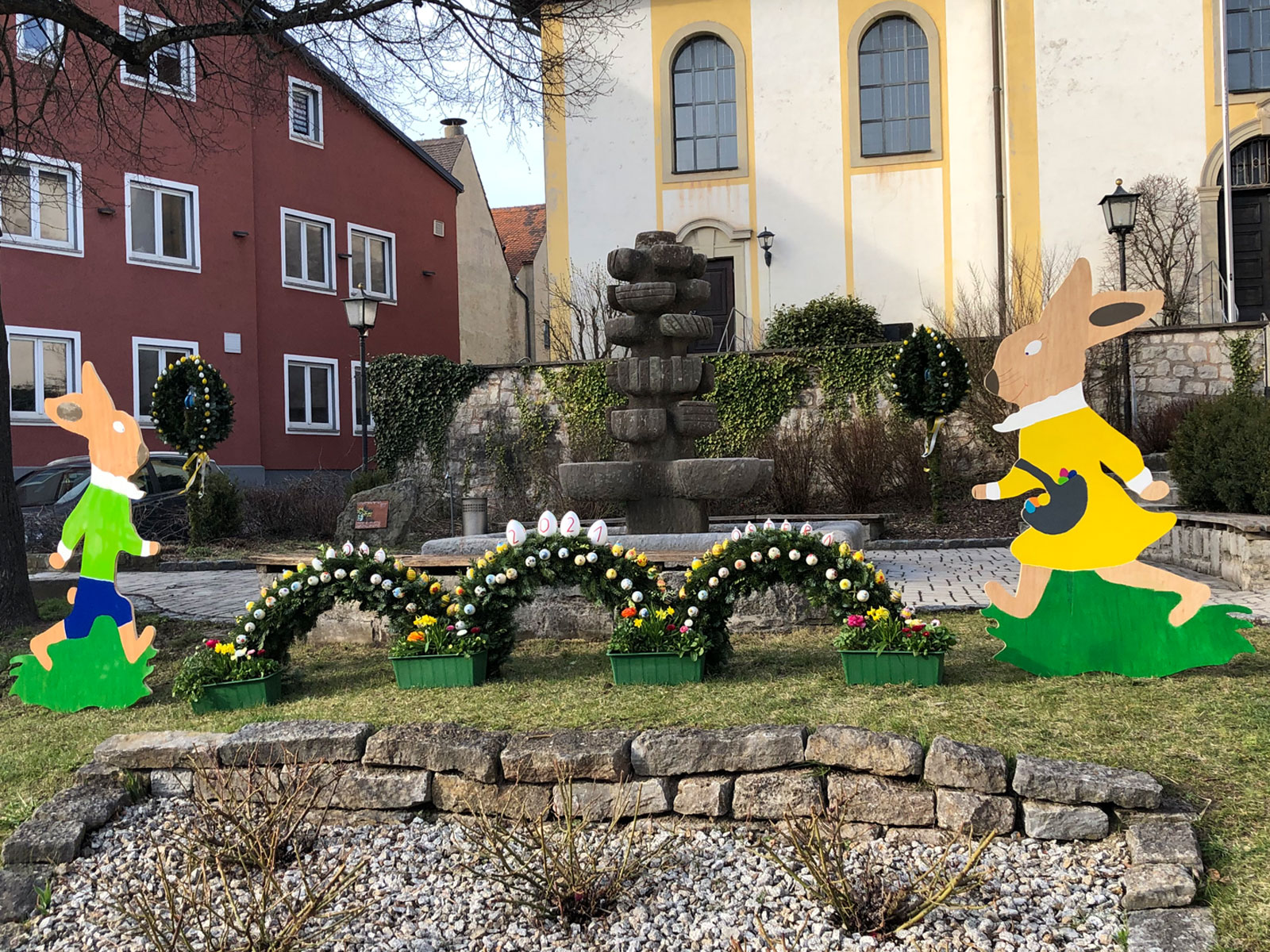 Osterbrunnen schönbrunn